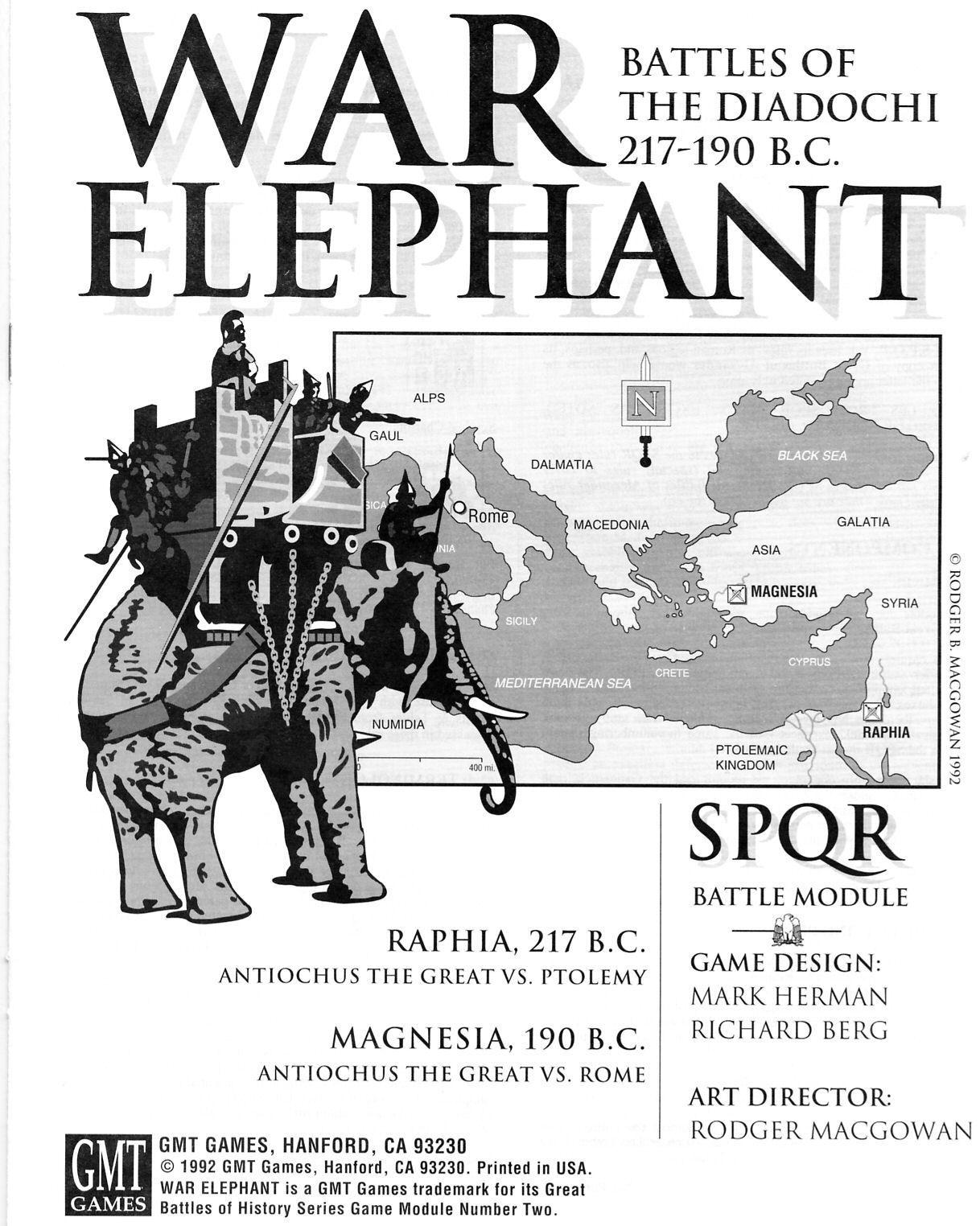 War Elephant: SPQR Module