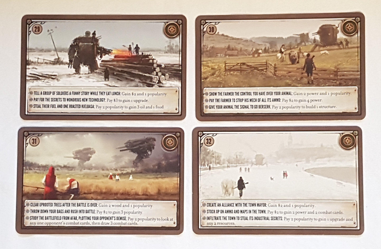 Scythe: Promo Pack #1 – Encounter Cards 29-32