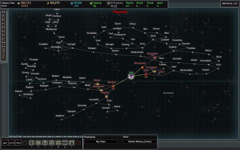 Ai War ai war beginner game (ish) campaign notes | ai war: fleet