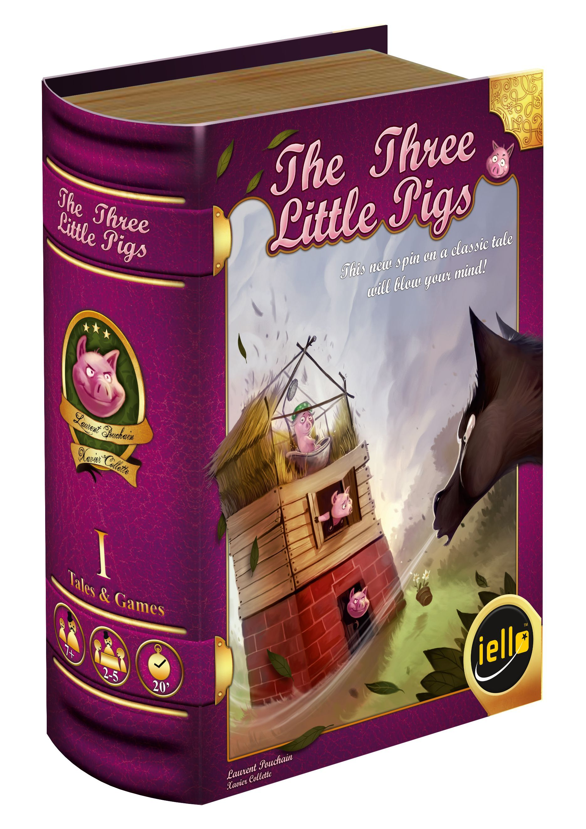 Main image for Tales & Games: The Three Little Pigs