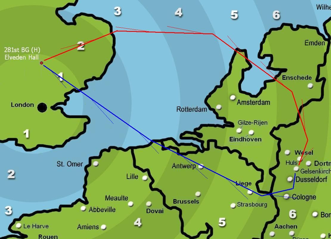 Gelsenkirchen Germany Map.Forum Campaign 5 Mission 121 Gelsenkirchen B 17 Queen Of