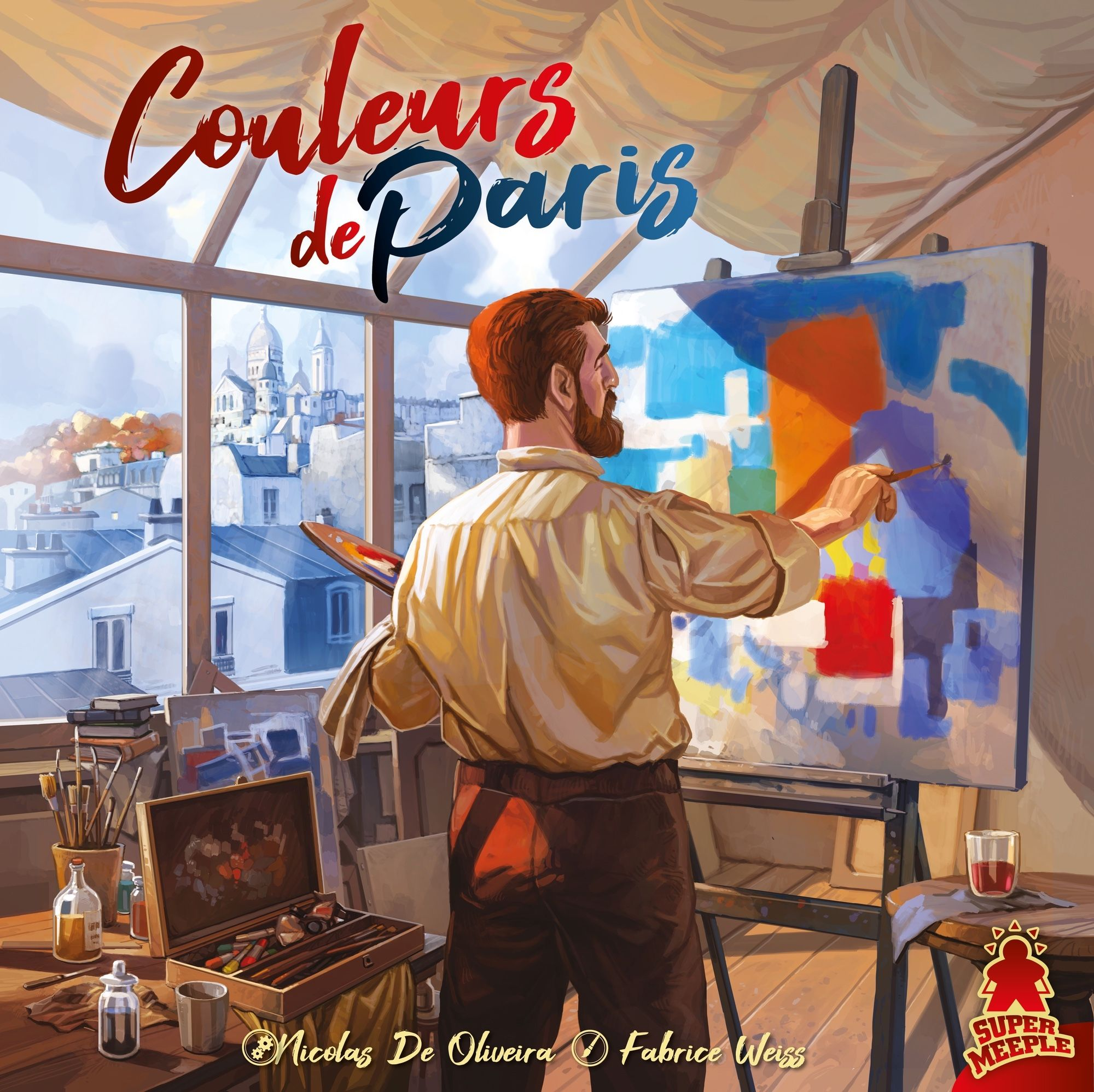 Colors of Paris - Portada