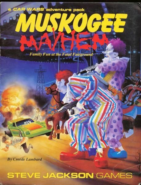 Muskogee Mayhem, a Car Wars adventure pack