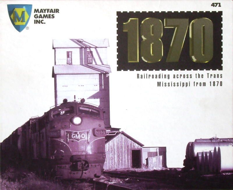 1870: Railroading across the Trans Mississippi from 1870