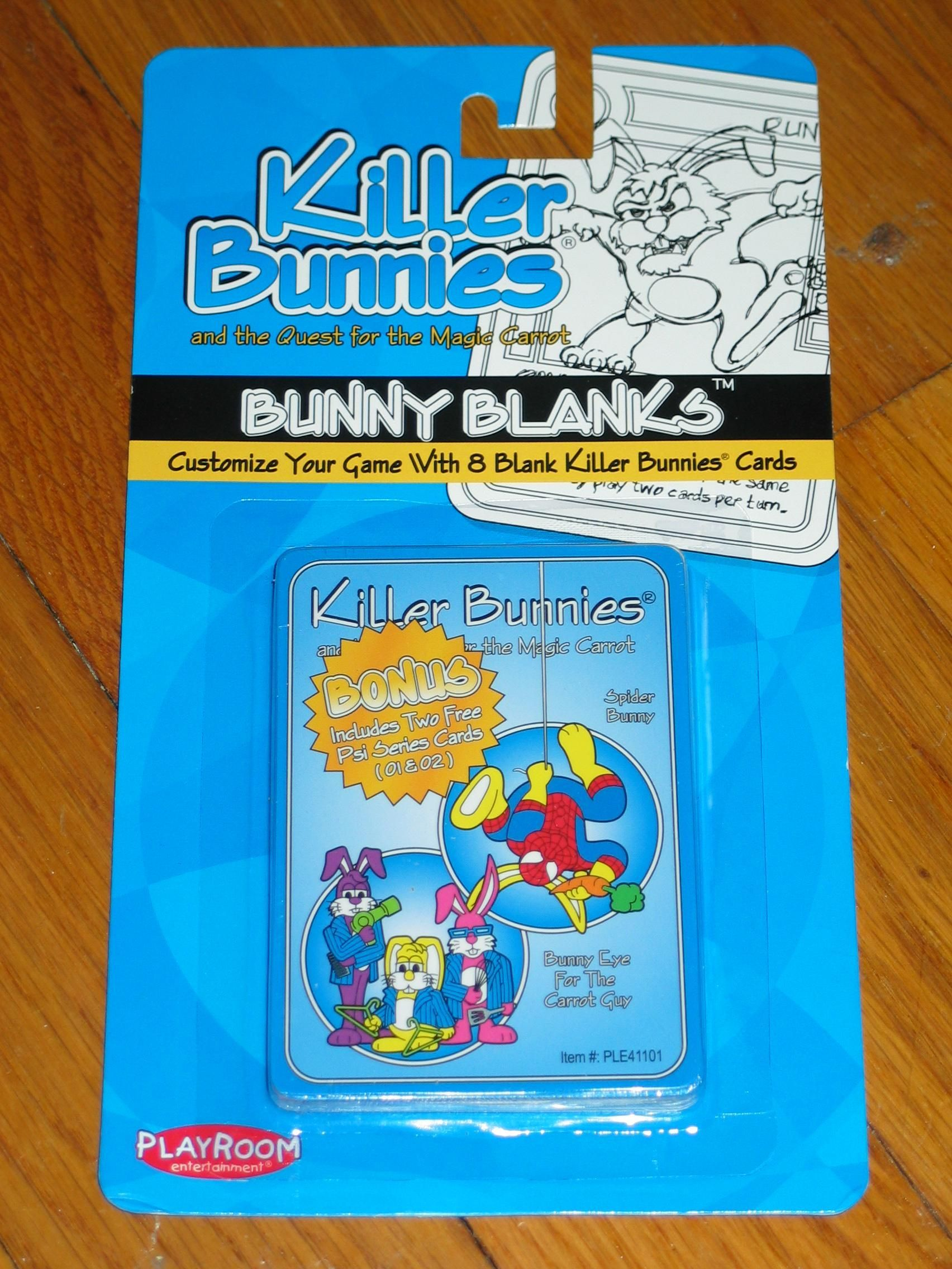 Killer Bunnies Bunny Blanks #1