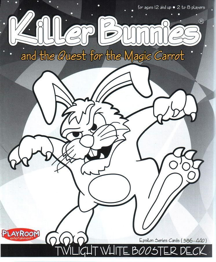 Killer Bunnies and the Quest for the Magic Carrot: Twilight WHITE Booster