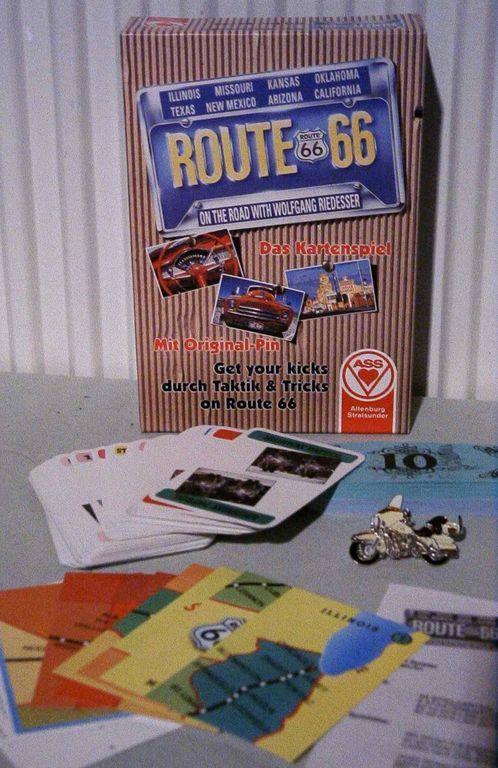 Route 66 Das Kartenspiel