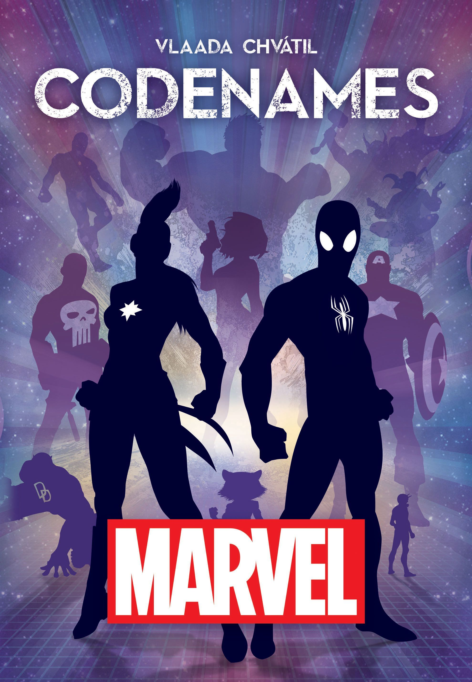Codenmes : Marvel