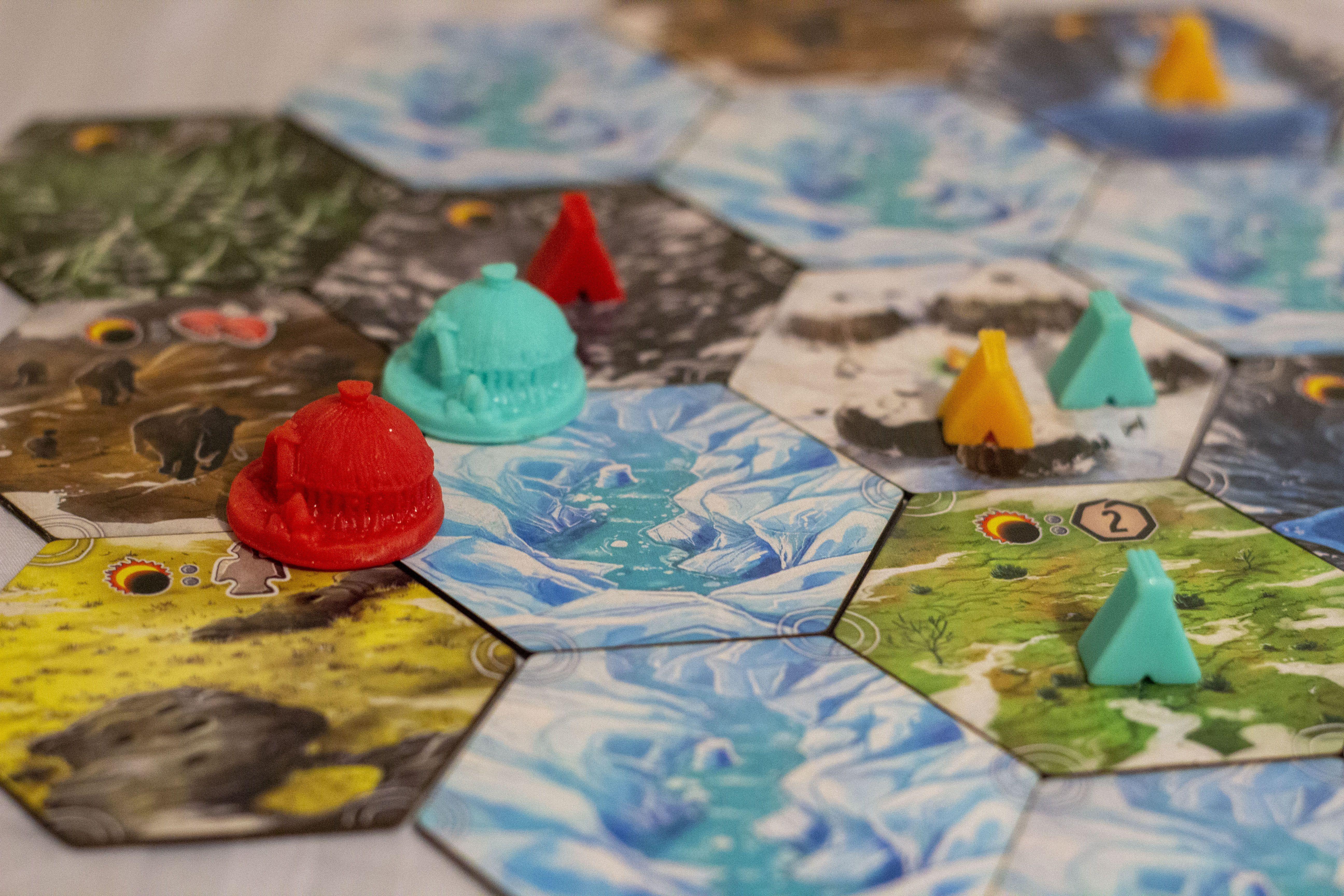 Terrains avec des Villages et des Camps (prototype)