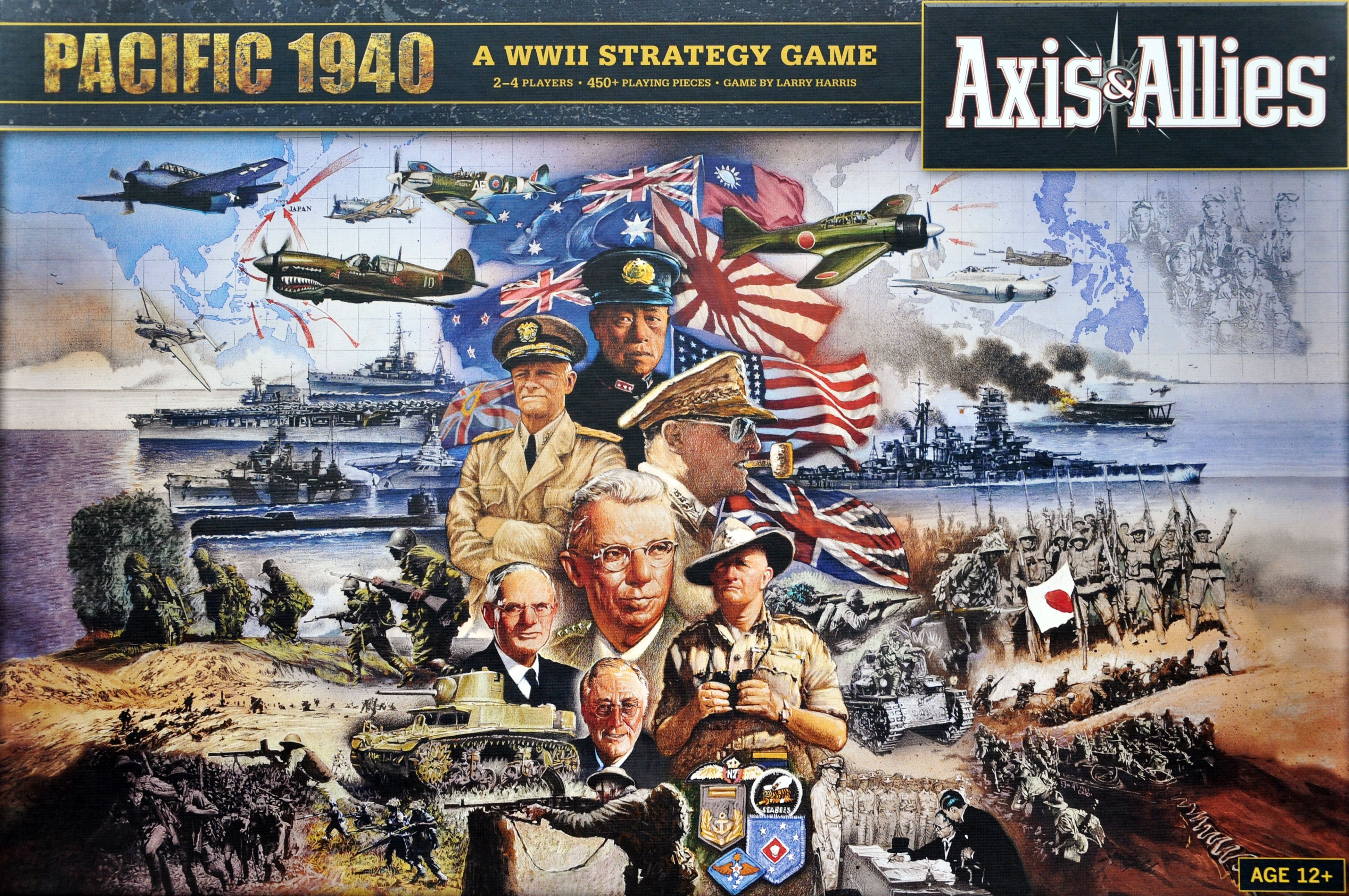 Main image for Axis & Allies Pacific 1940 board game