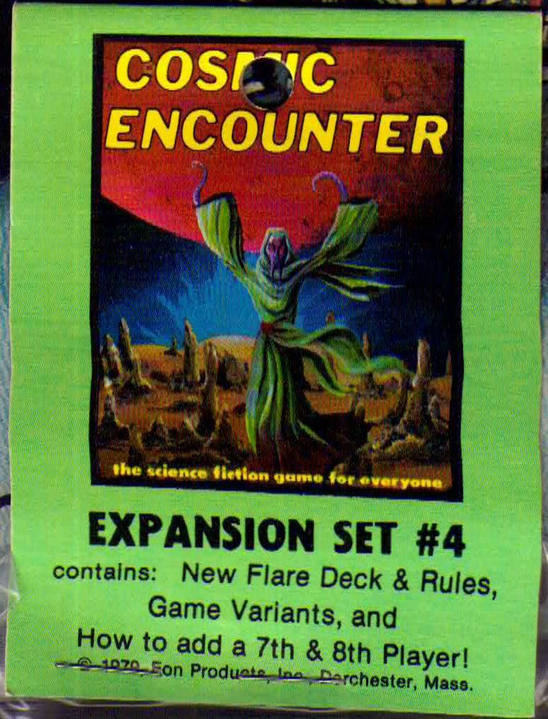 Cosmic Encounter: Expansion Set #4