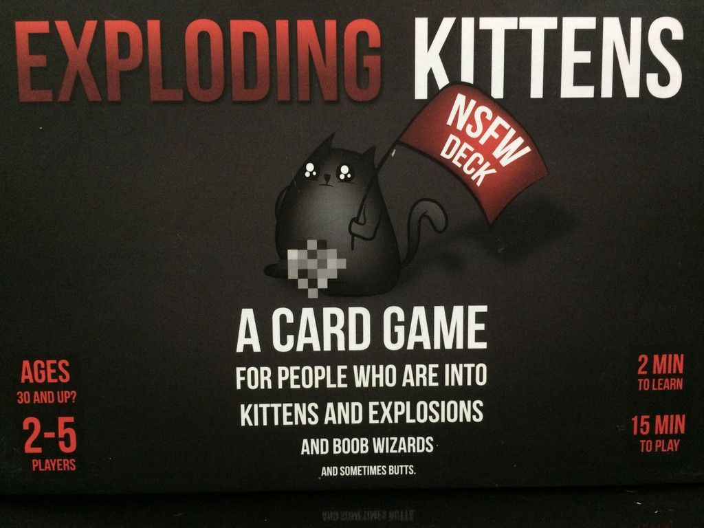 Main image for Exploding Kittens: NSFW Deck