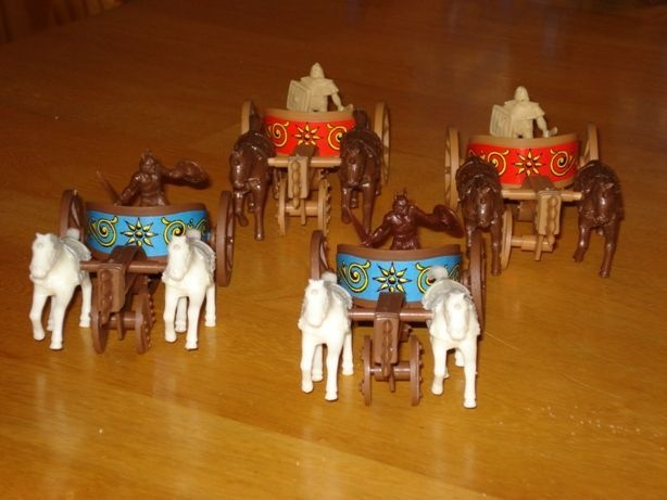 Crossbows and Catapults: Chariots Battleset