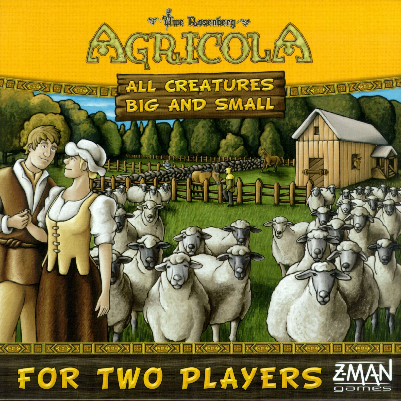 Main image for Agricola: All Creatures Big and Small board game