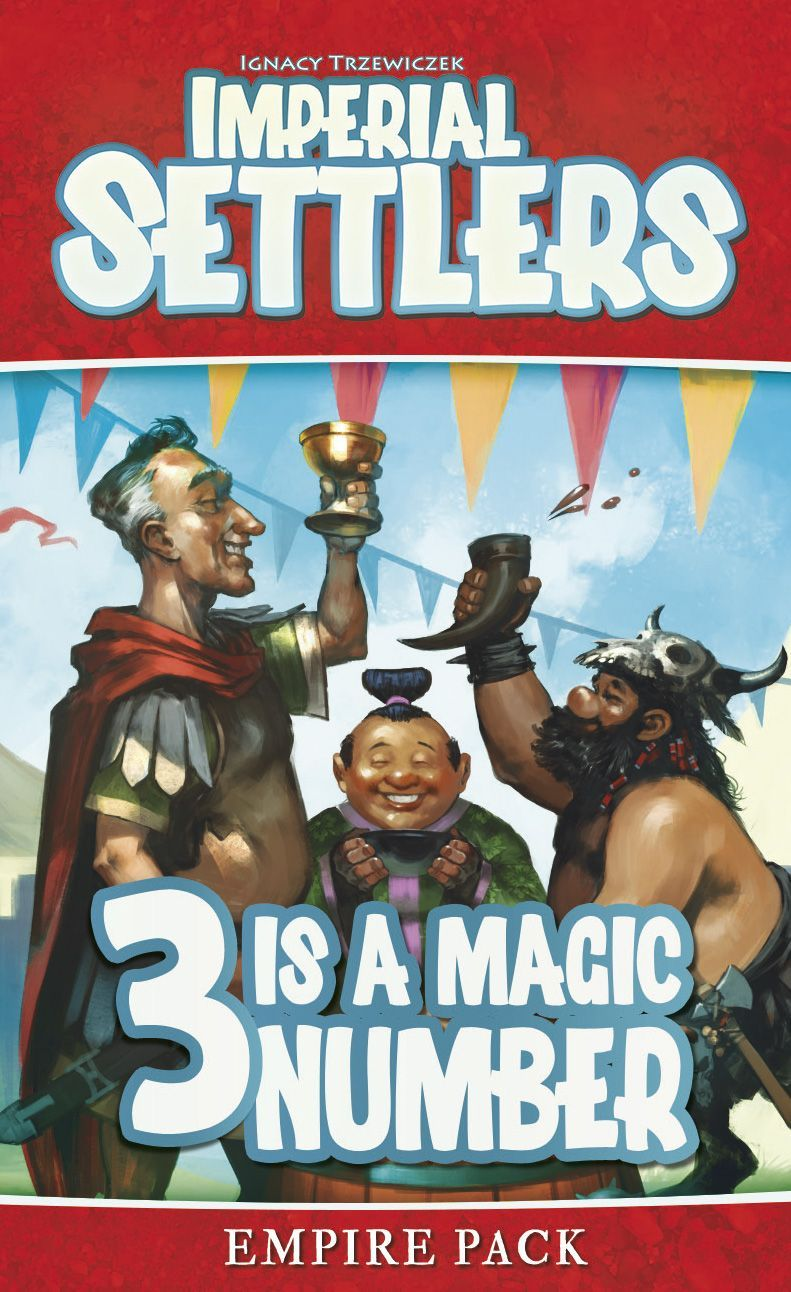 Imperial Settlers: 3 Is a Magic Number Cover