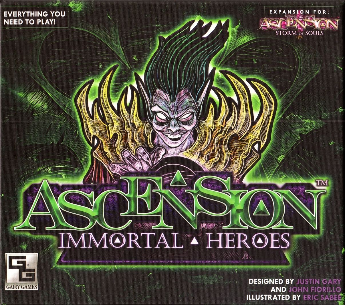 Main image for Ascension: Immortal Heroes board game