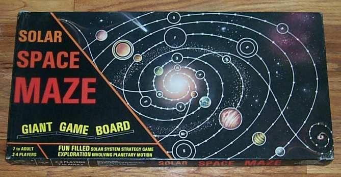Solar Space Maze