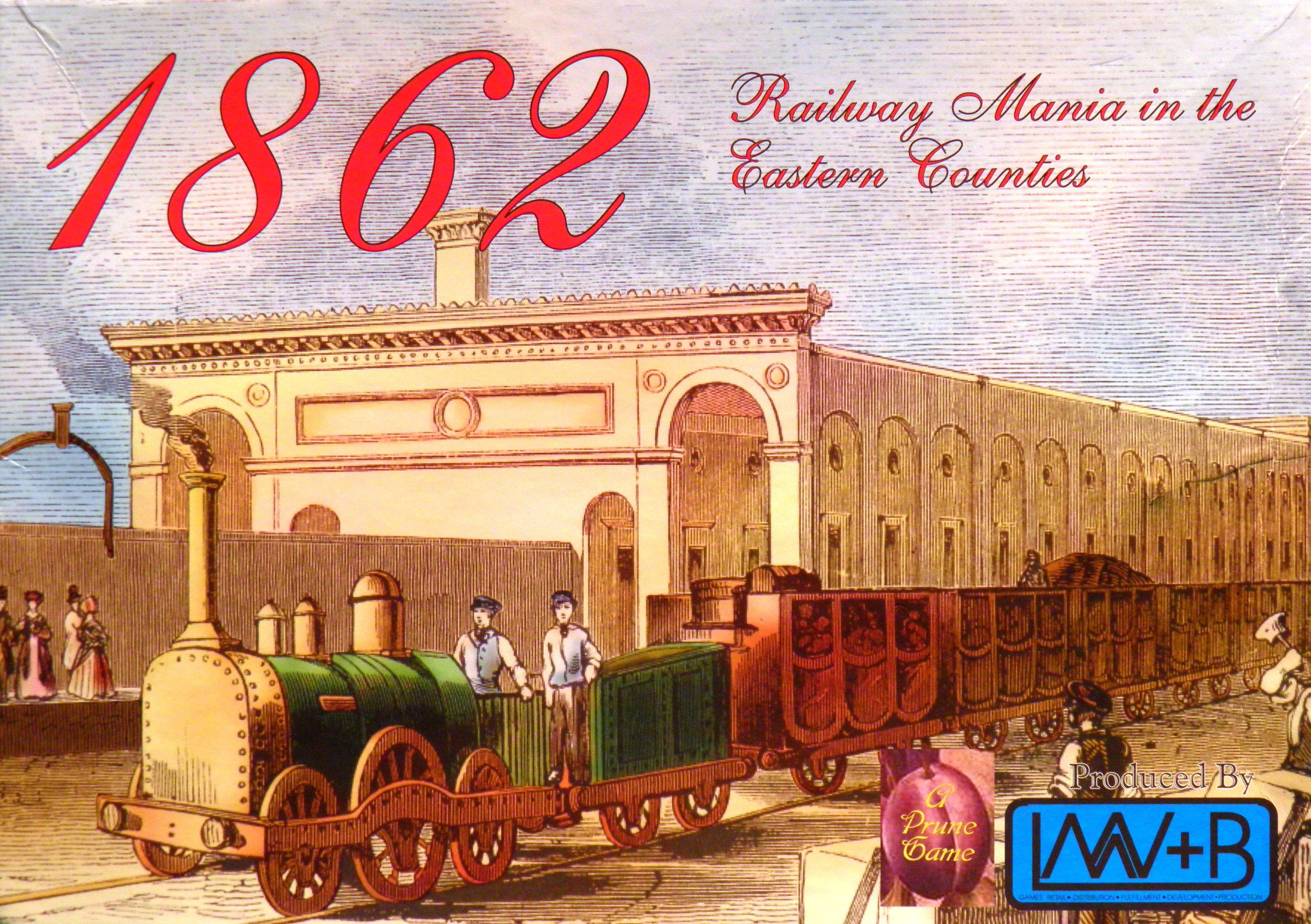 Main image for 1862: Railway Mania in the Eastern Counties board game