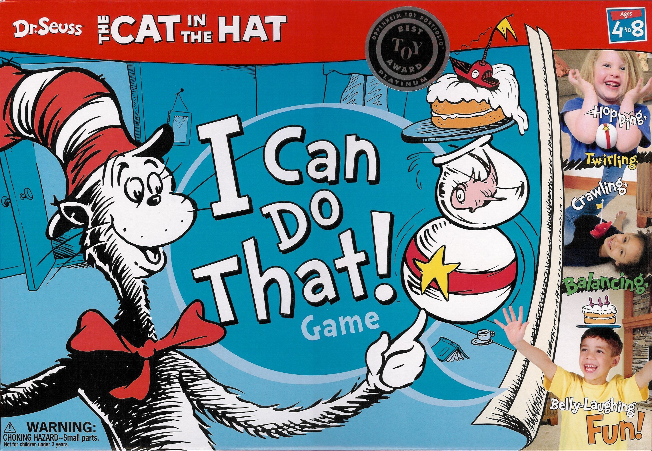 Cat in The Hat:  I Can do that!