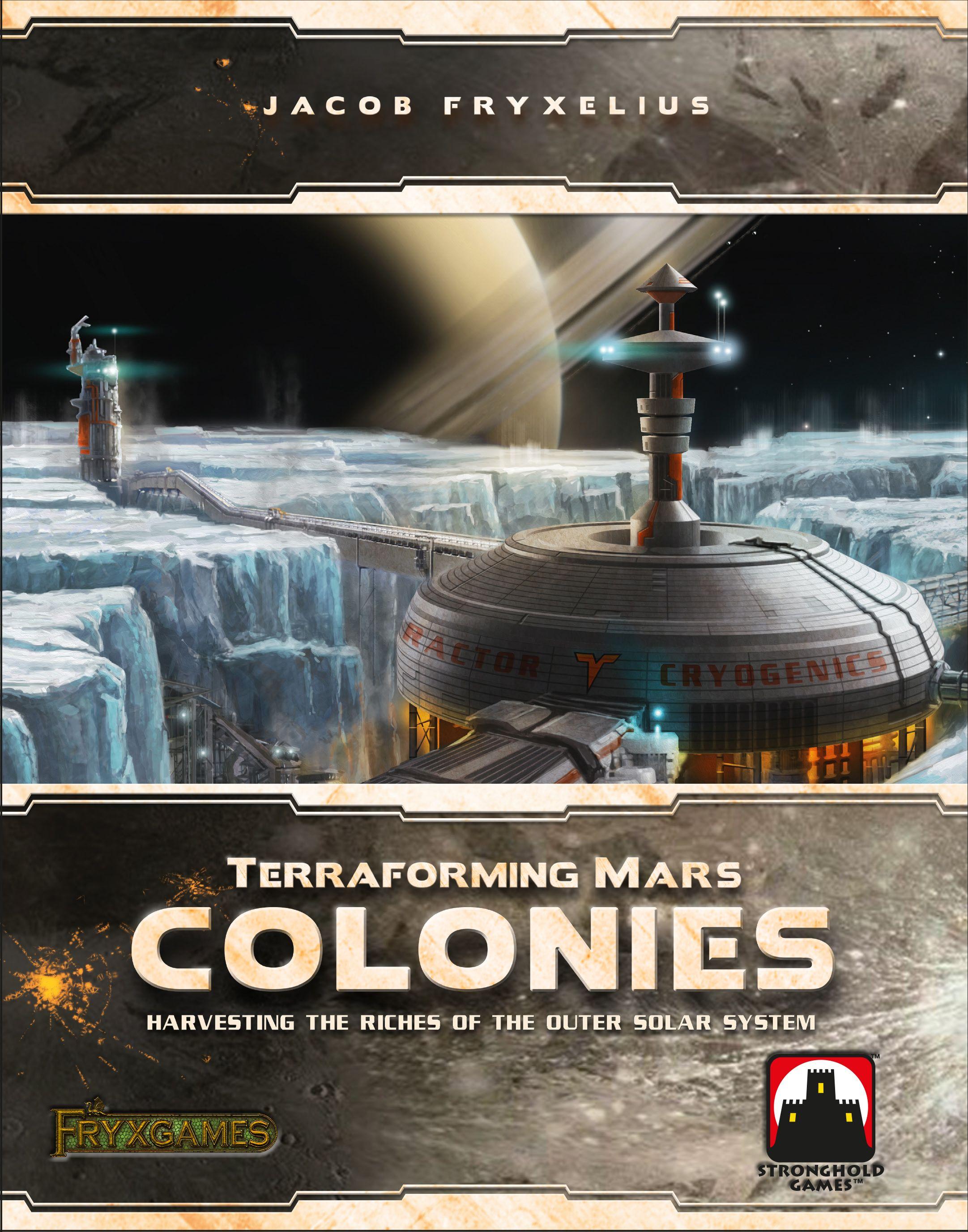 Покорение Марса: Колонии