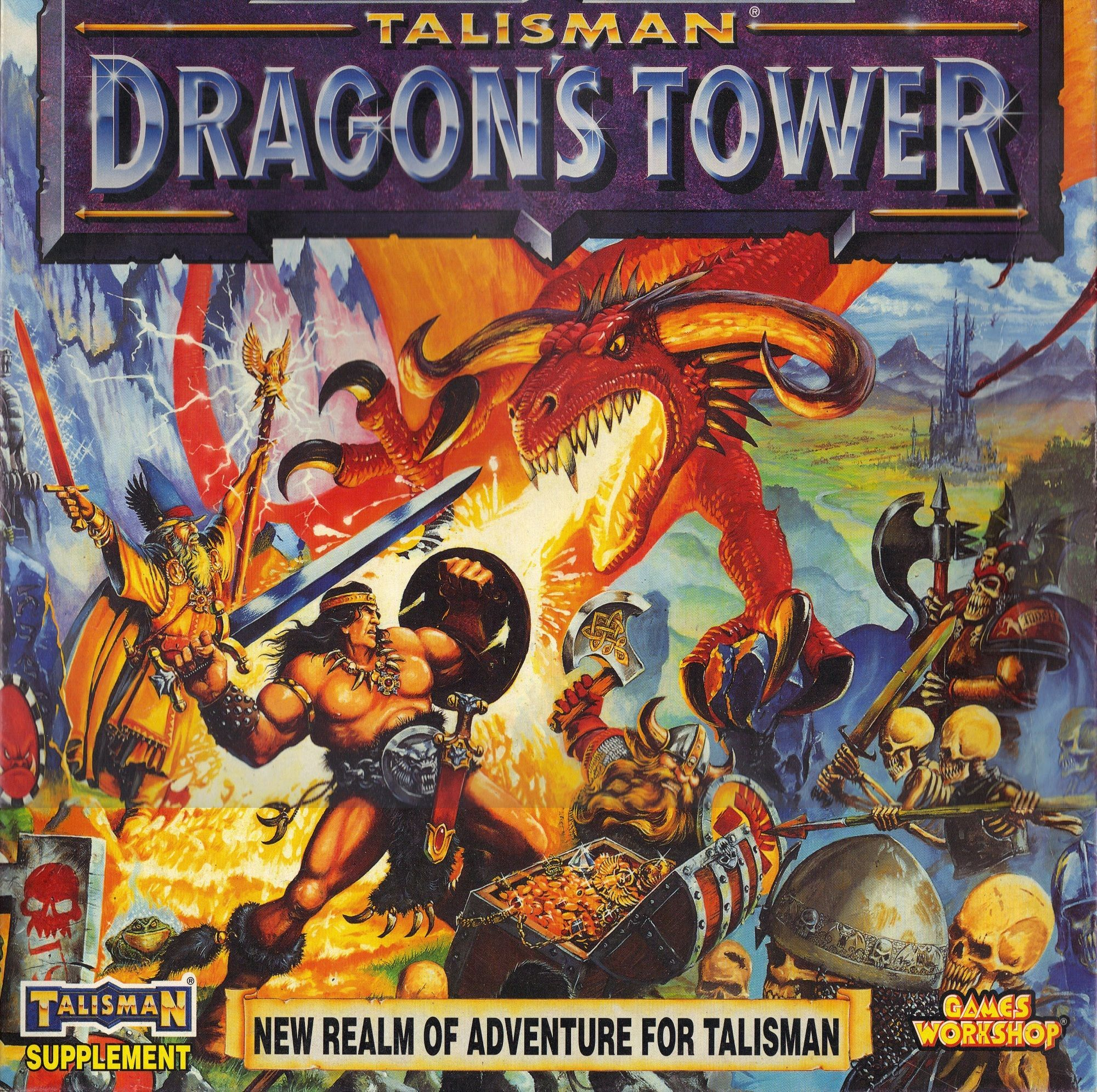 Talisman (third edition): Dragon's Tower