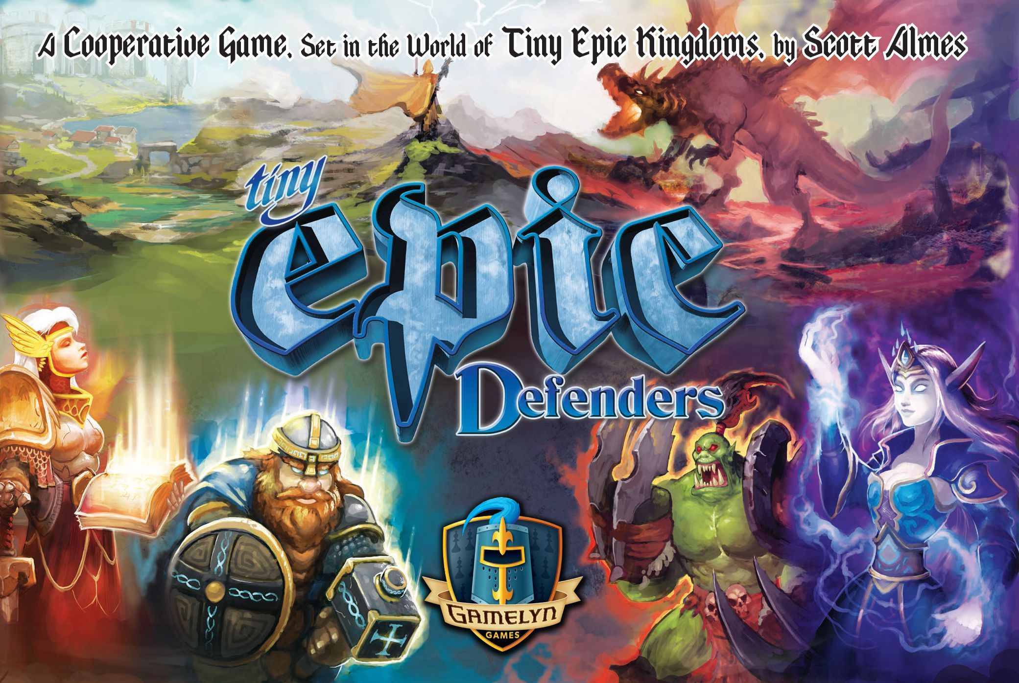 Main image for Tiny Epic Defenders (Second Edition)