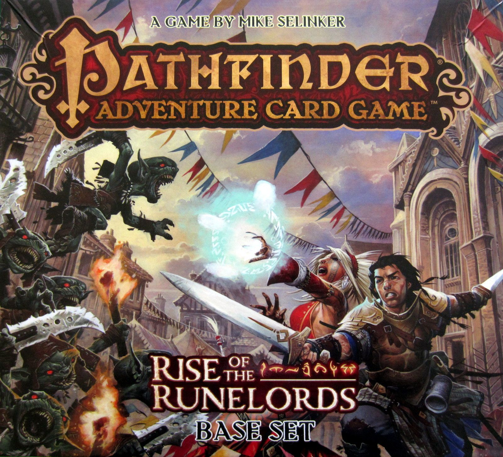 Main image for Pathfinder Adventure Card Game: Rise of the Runelords – Base Set