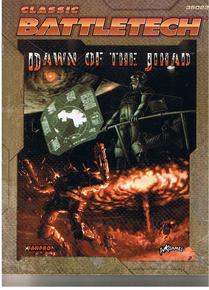Classic Battletech: Dawn of the Jihad