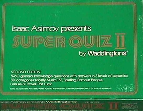 Isaac Asimov presents Super Quiz II