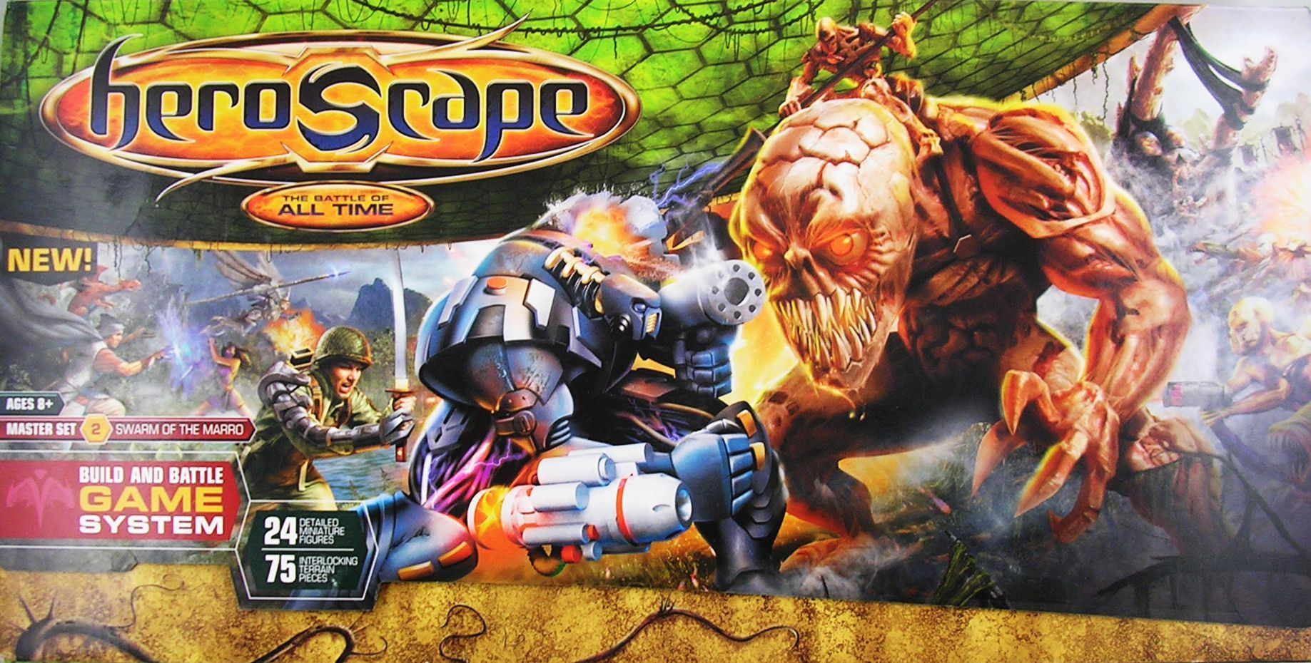 Heroscape Master Set: Swarm of the Marro