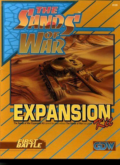 The Sands of War Expansion Kit