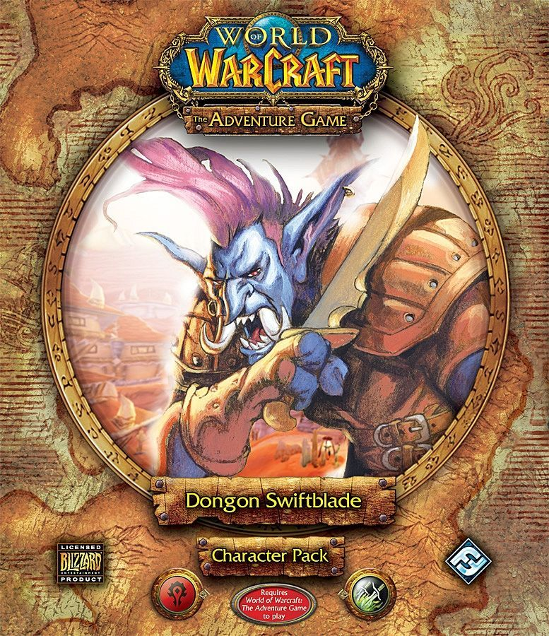 World of Warcraft: The Adventure Game – Dongon Swiftblade Character Pack