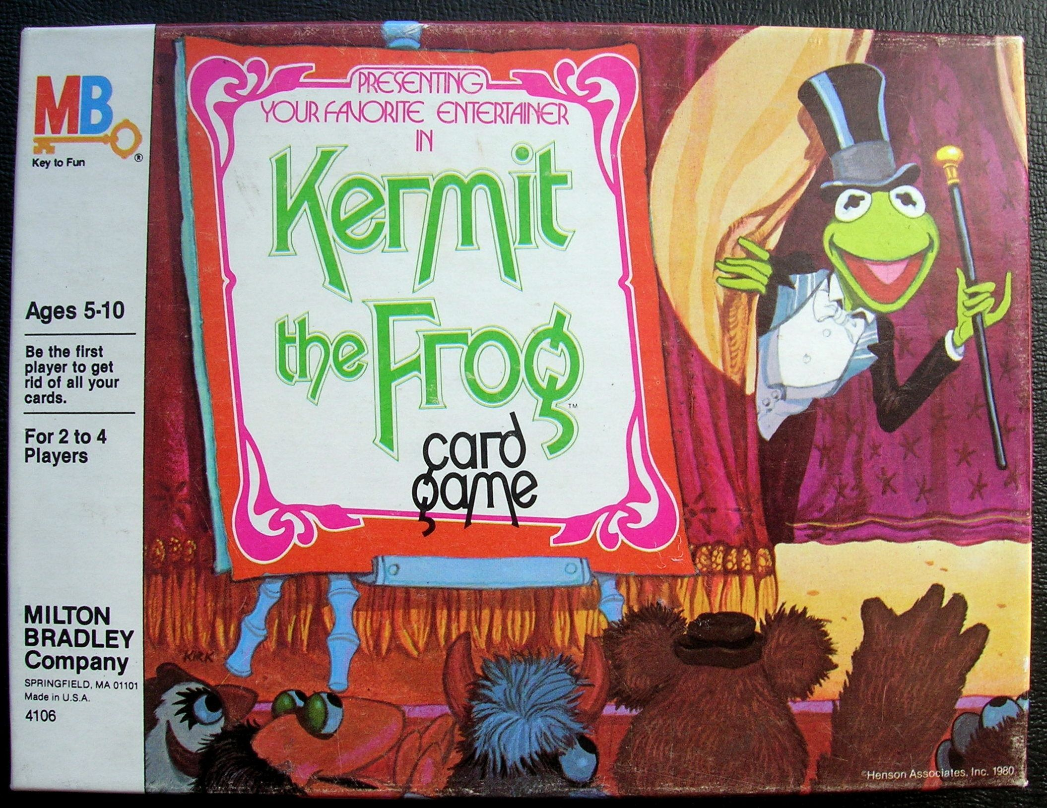 Kermit the Frog Card Game