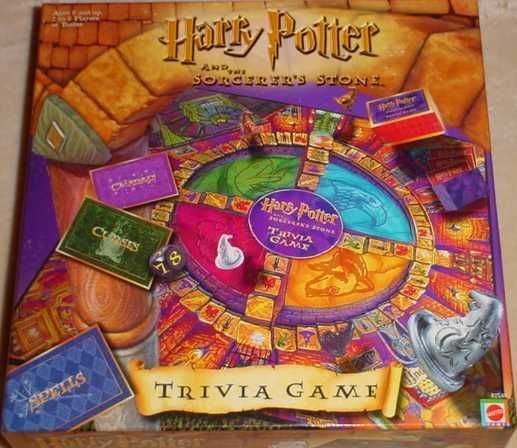 Harry Potter and the Sorcerer's Stone Trivia Game