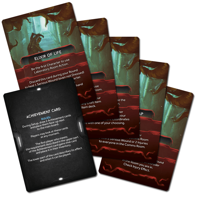 Nemesis: Achievement Cards