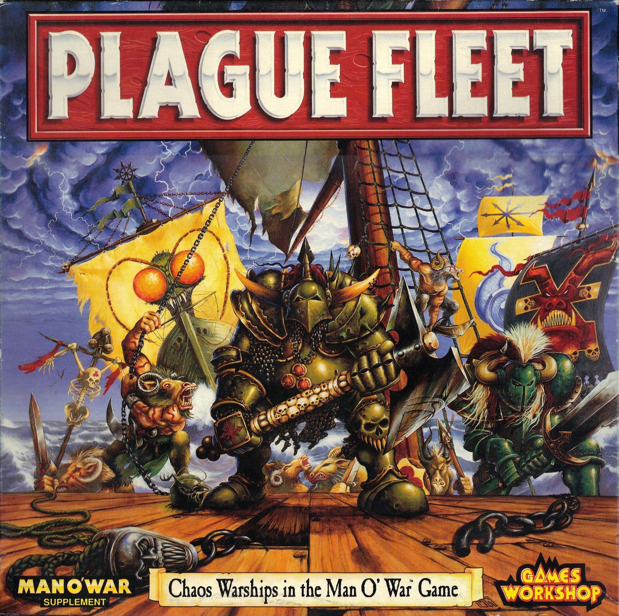 Man O' War: Plague Fleet