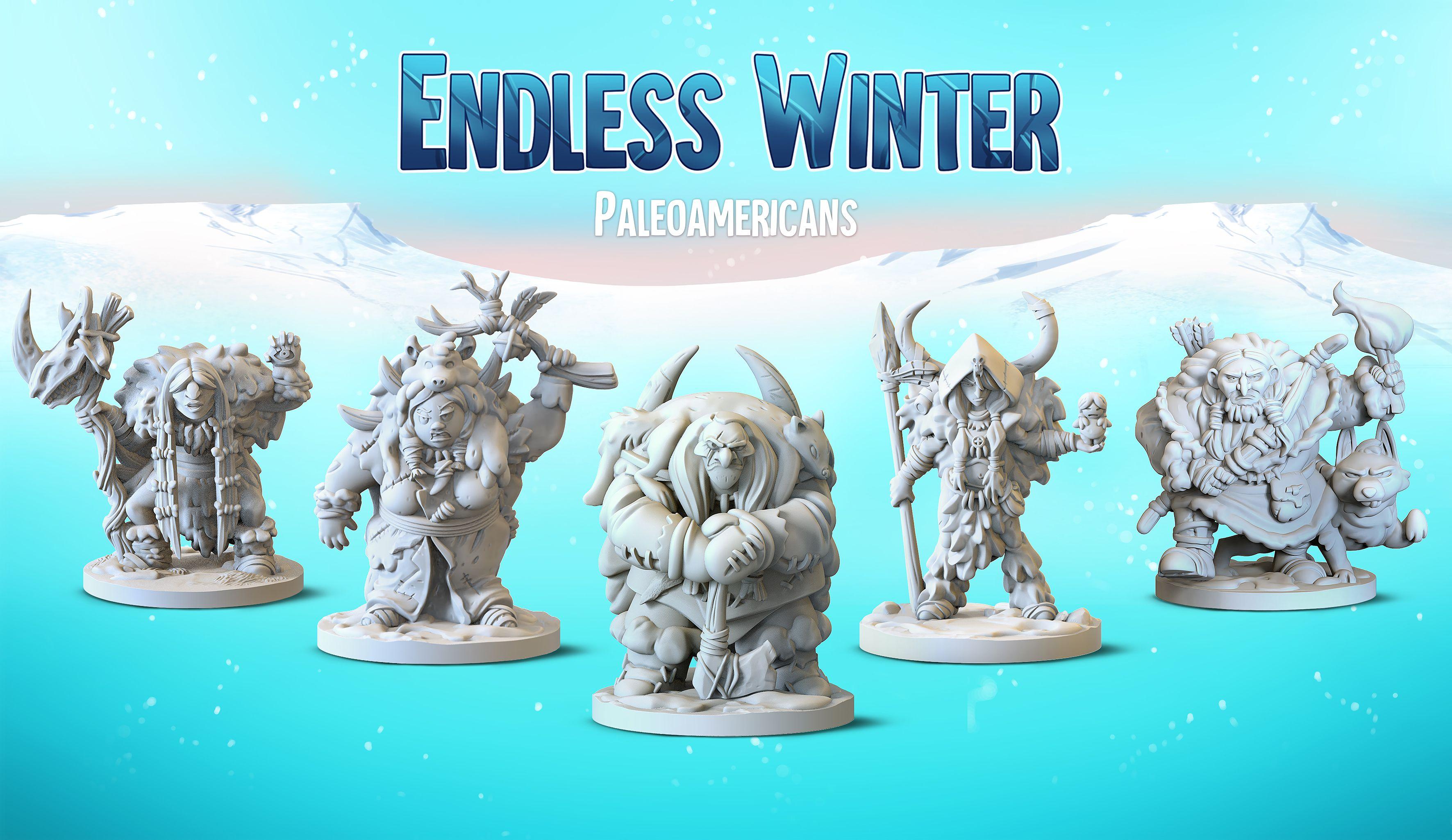 Séries des chefs de Endless Winter : Paleoamericans