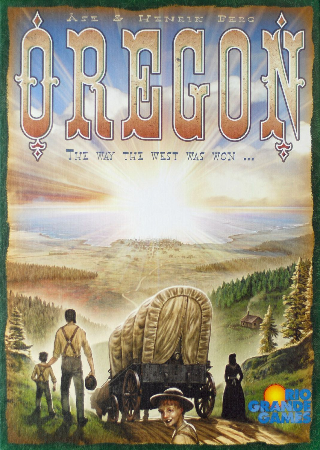 Main image for Oregon board game