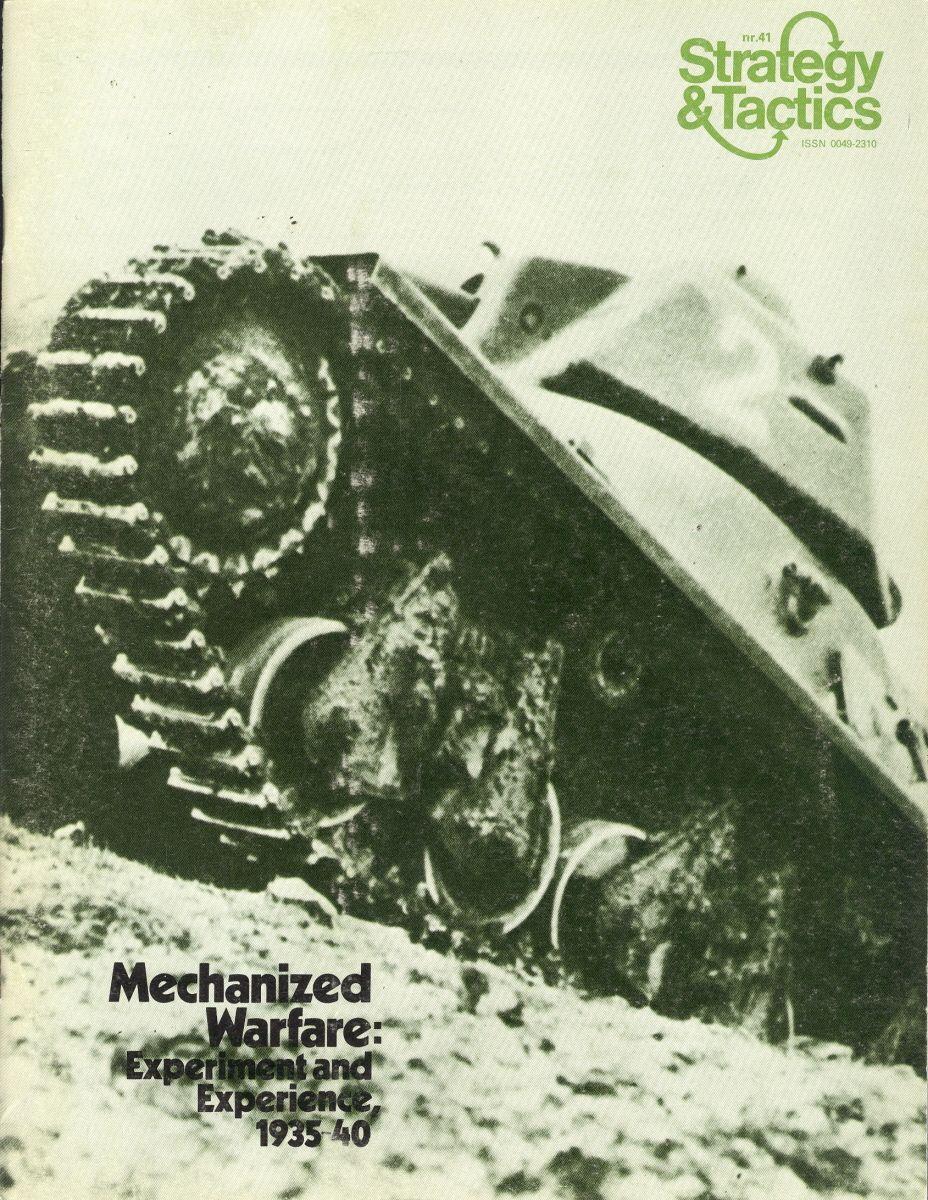 Kampfpanzer: Armored Combat, 1937-40