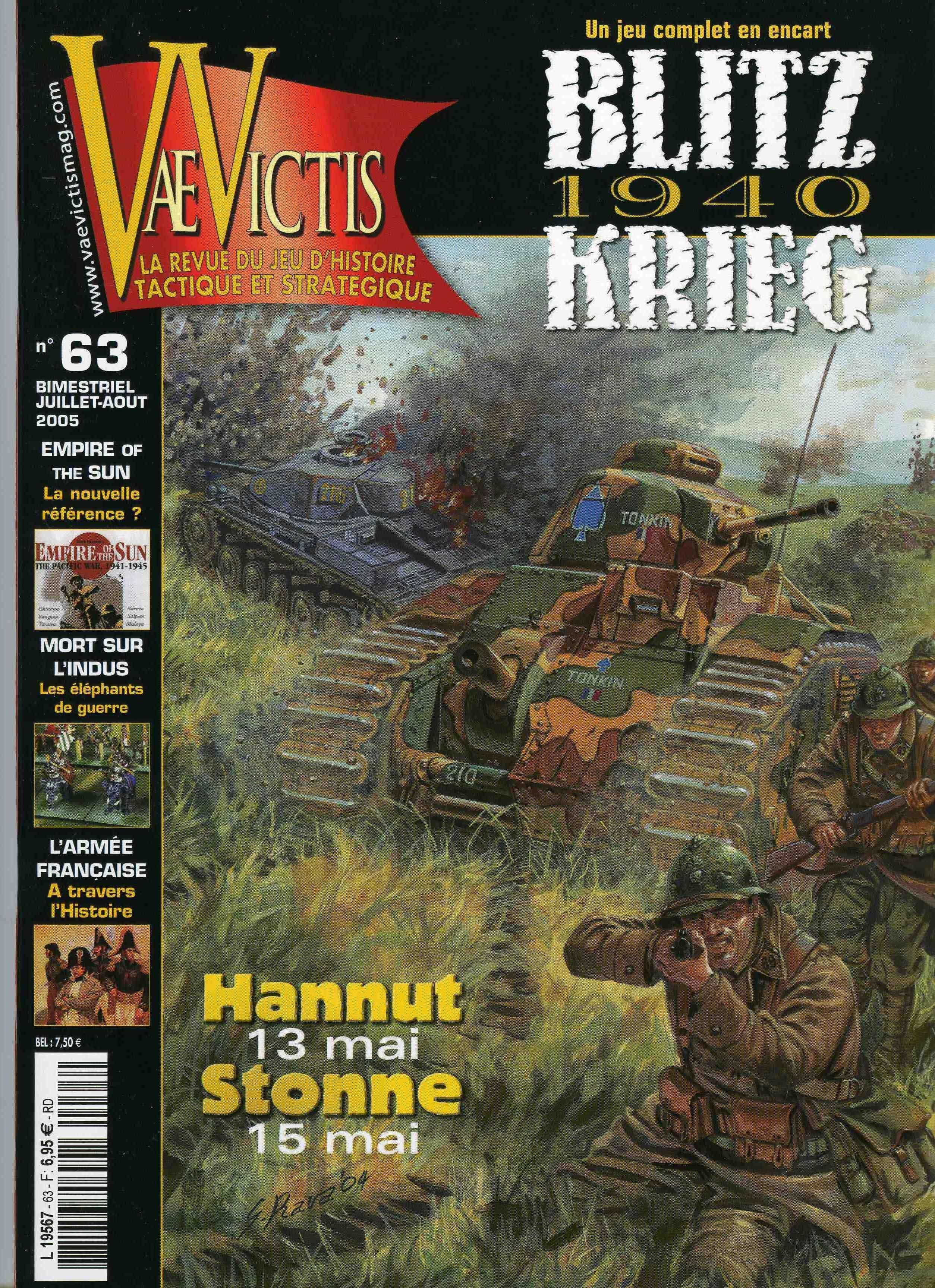Blitzkrieg 1940: Hannut et Stonne