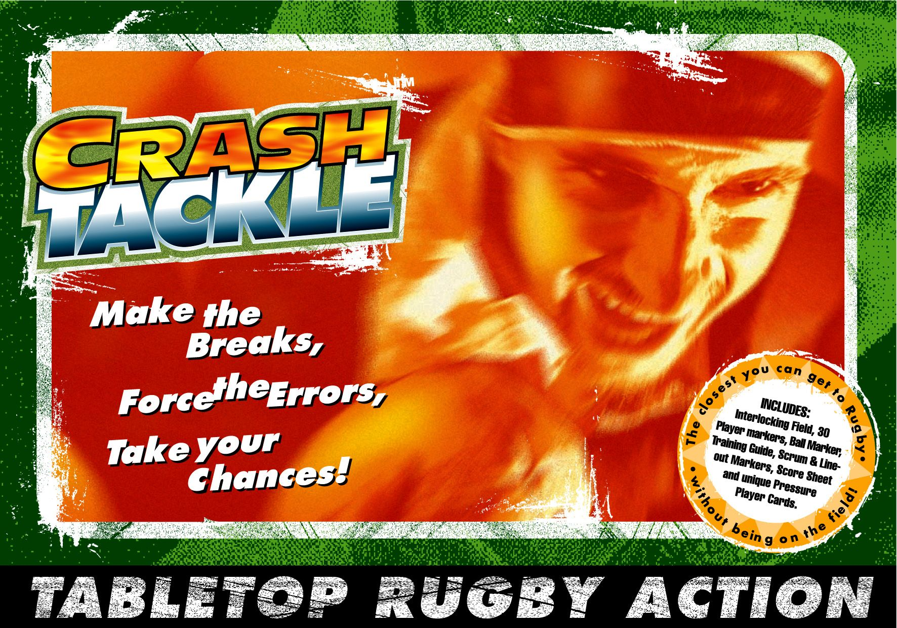 Crash Tackle Rugby Board Game