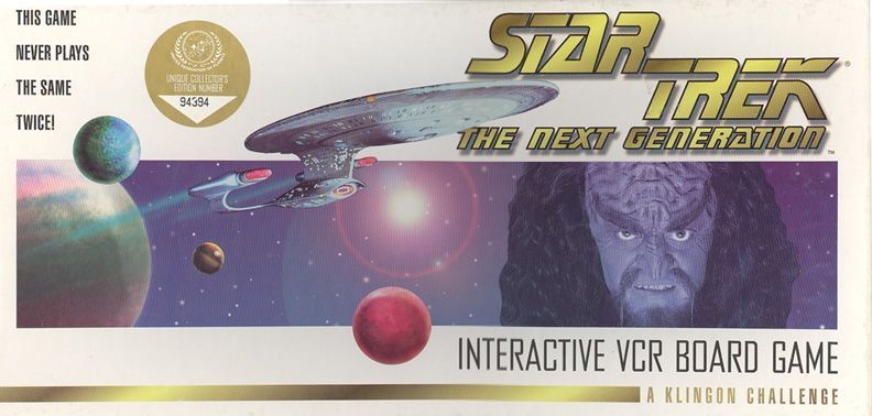 Star Trek: The Next Generation – Interactive VCR Board Game – A Klingon Challenge