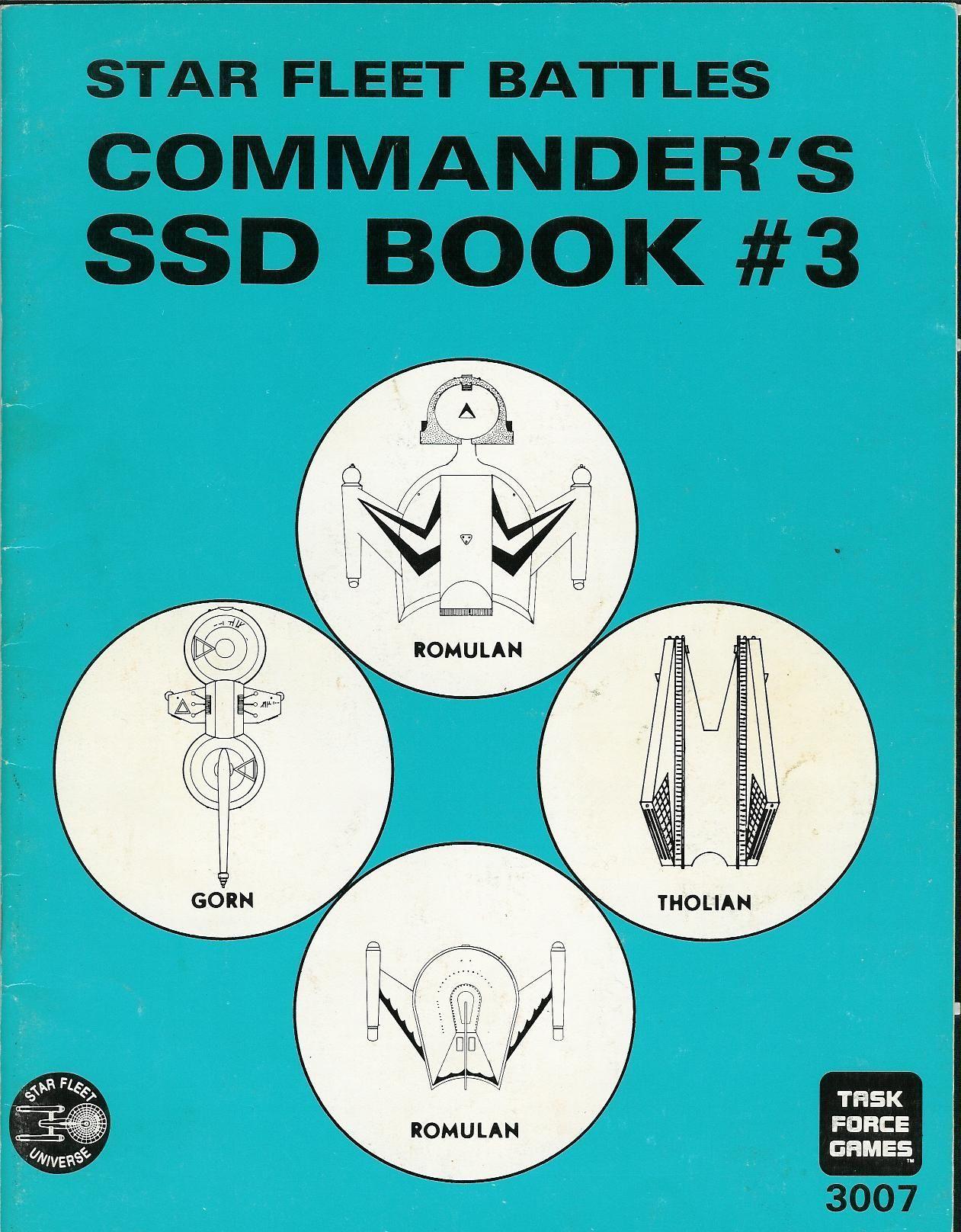 Star Fleet Battles: Commanders SSD Book #3