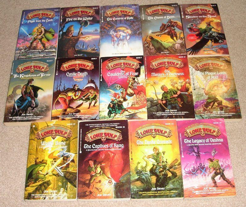 Geeklists for Lone Wolf Gamebooks   BoardGameGeek
