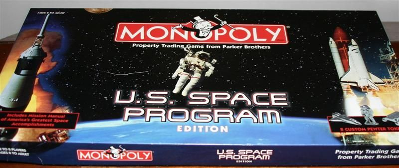 Monopoly: U.S. Space Program