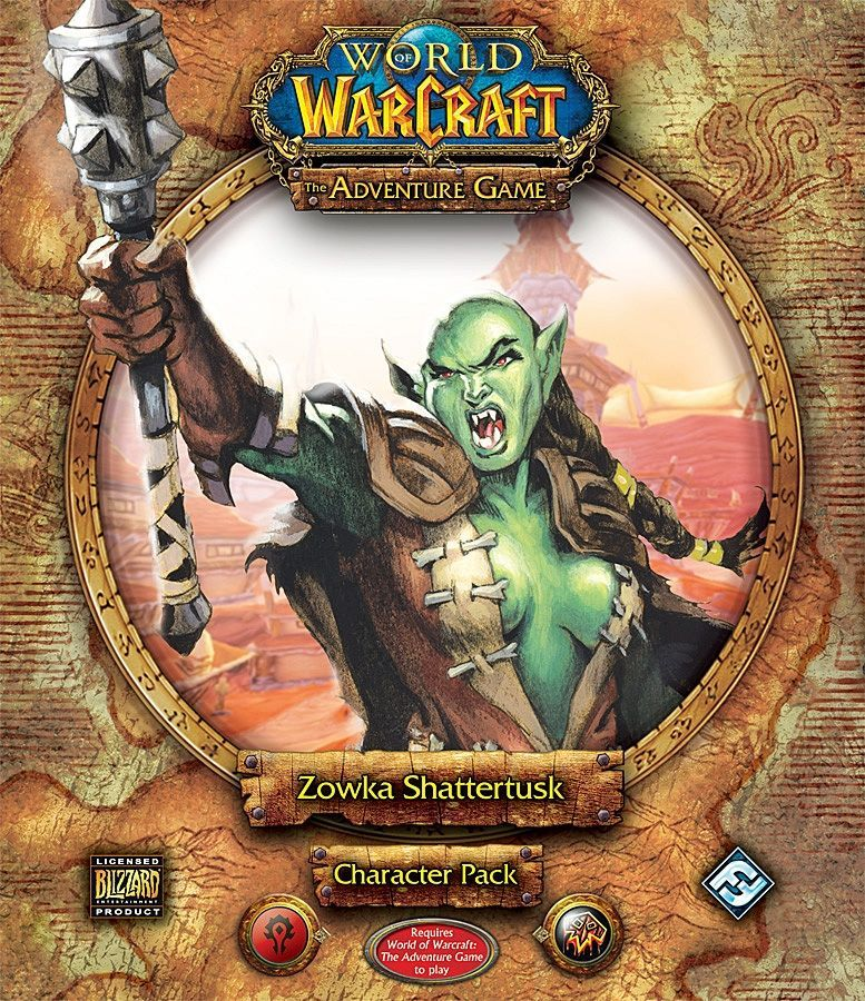 World of Warcraft: The Adventure Game – Zowka Shattertusk   Character Pack