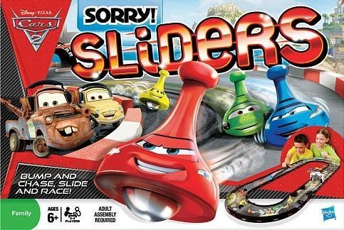 Sorry Sliders Cars  Rules