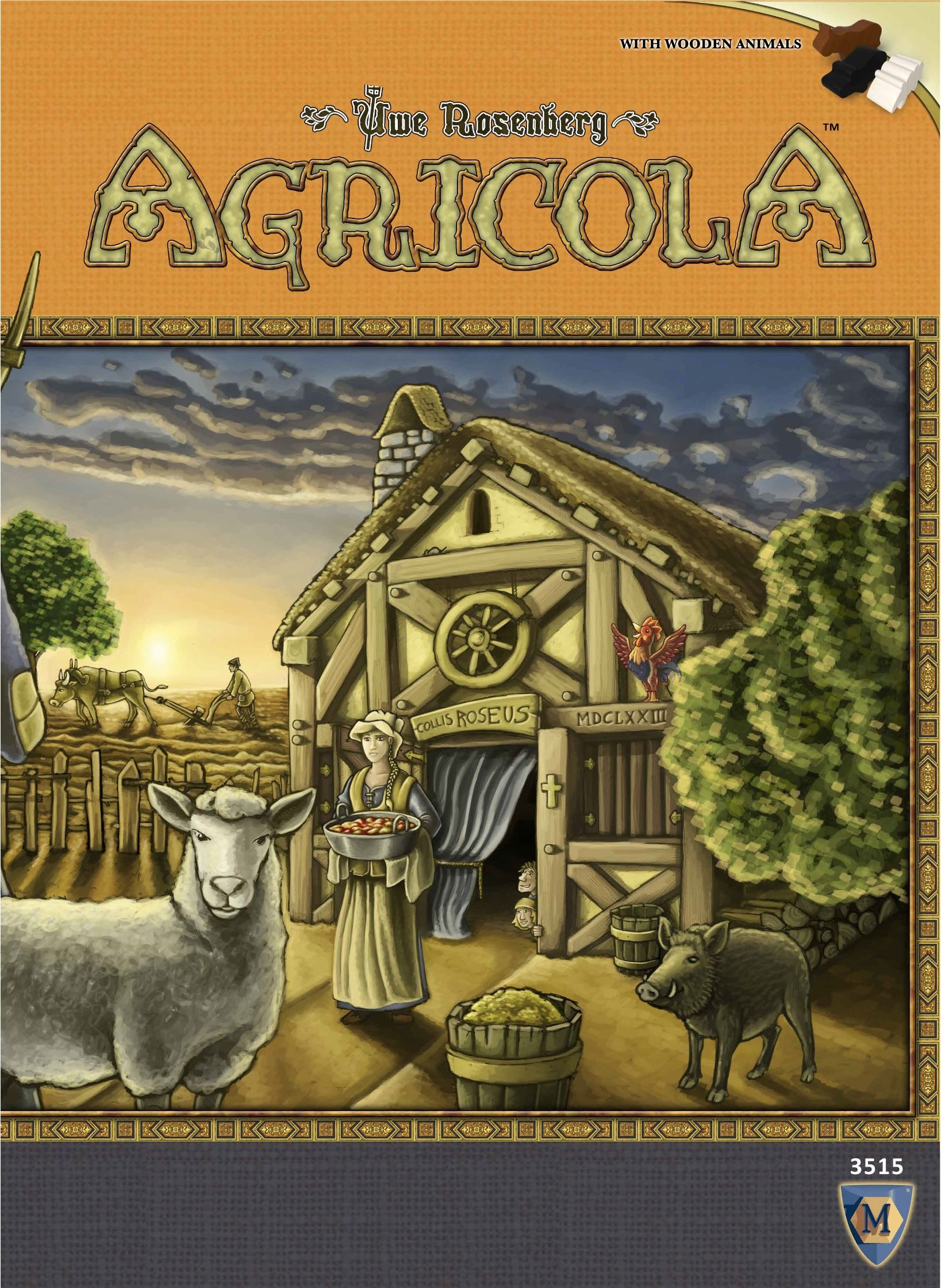 Main image for Agricola (Revised Edition) board game