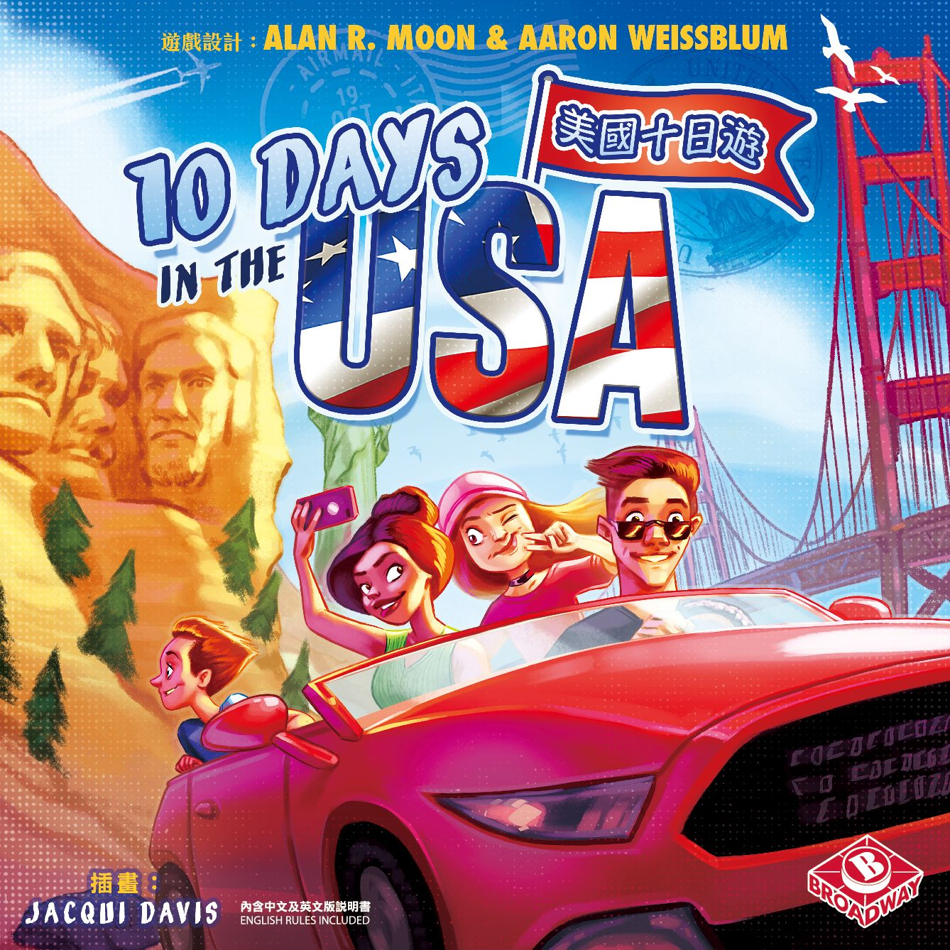 Main image for 10 Days in the USA board game