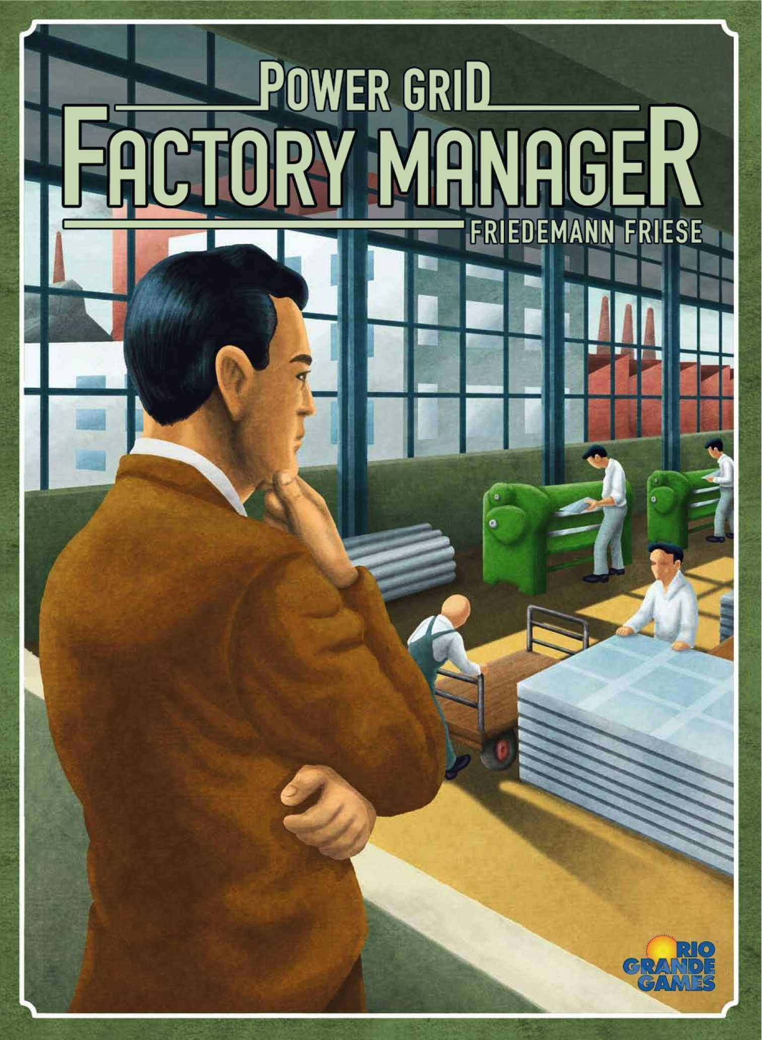 Power Grid: Factory Manager